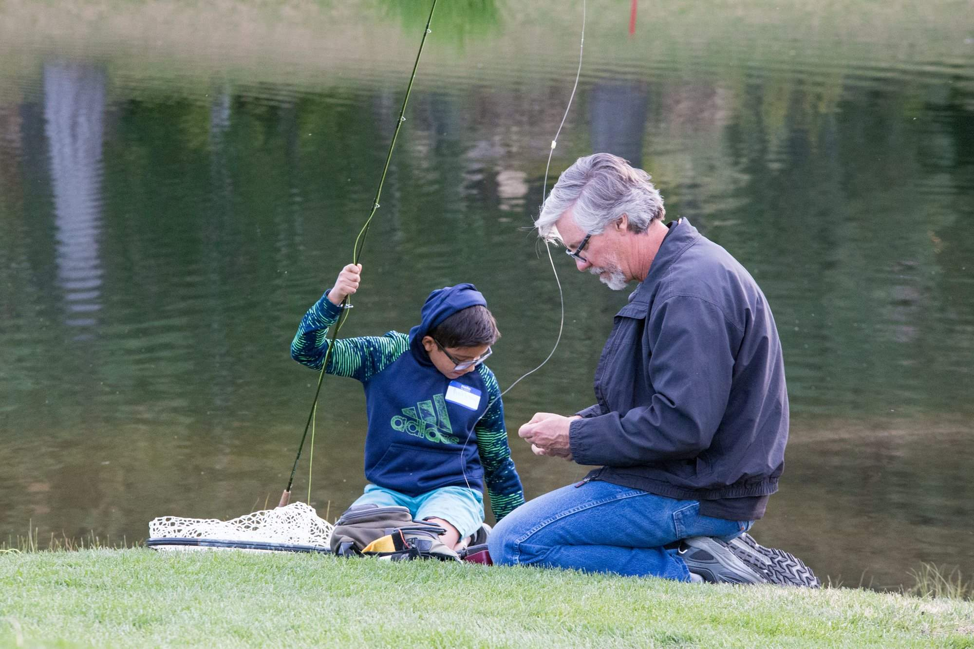 Big Brothers Big Sisters & Montrêux's Fly-Fishing Group